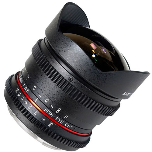 Samyang 8mm VDSLR