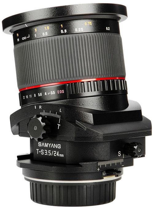 Samyang 24mm Tilt/Shift