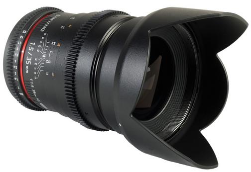 Samyang 35mm VDSLR