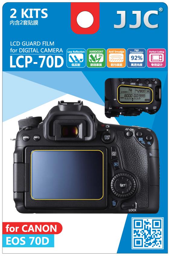 JJC LCD Bescherming Canon DSLR
