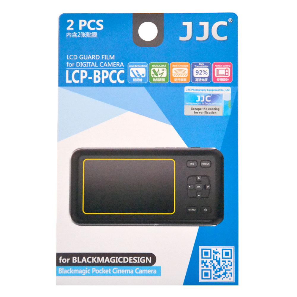 JJC LCD Bescherming Black Magic