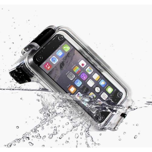 Pixco Bluetooth Waterproof Case tot 30 meter voor Smartphone Oranje